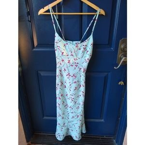 Express | cherry blossom strappy dress